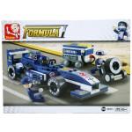 "Formula 1 ""Blue Lightning"" Racing Car Set by Sluban"