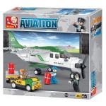 Aviation Construction Set by Sluban Toy Bricks