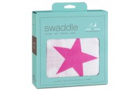 Twinkle Pink Swaddle by Aden and Anais