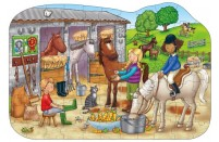 At The Stable Floor Puzzle by Orchard Toys