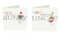 Happy Birthday Aunty / Uncle Card
