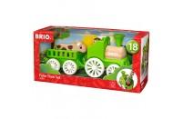 Brio Farm Train Set  (Age 18+ months)
