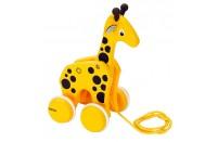 Pull along Wooden Giraffe by Brio