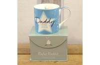 Daddy China Gift Mug by Rufus Rabbit