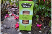 Toasted Coconut Biscuits by Honest Bakery 220g Gluten Free.