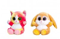 Animotsu Rabbit/Rainbow Cat by Keel Toys