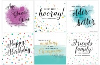 Luxury Birthday Cards
