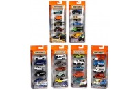 Matchbox Hero City 5 Car Window Pack - City Adventure