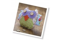 Patchwork Owl Sewing Kit the Crafty Kit Co.