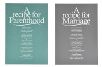 'A Recipe For' Poem Prints