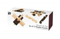 Professor Puzzle Ultimate IQ Test Wooden Puzzles Jigsaw Puzzle (Set of 3)