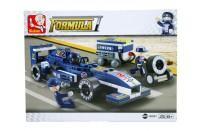 "Sluban Formula One ""Blue Lightning"" Racing Car Set"