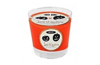 Jack O Lantern Glass Candle by Root Candles USA