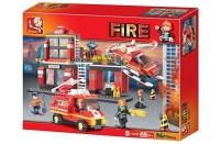 FIRE Construction Set by Sluban Toy Bricks
