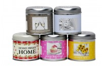 Sentiments Candle Tin by Wax Lyrical