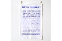 """What Is A Grandparent"" Poem Tea Towel"